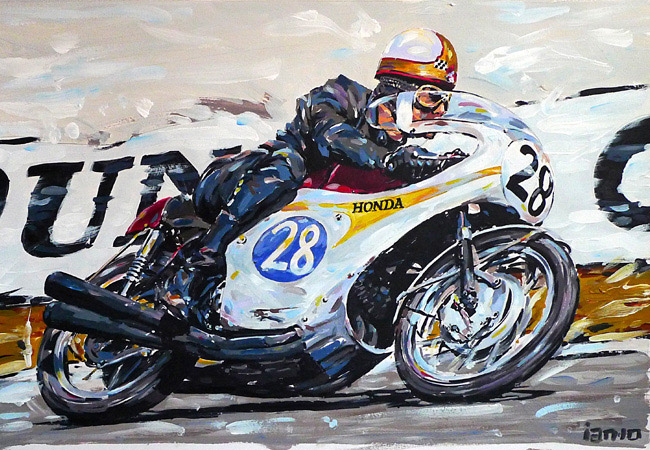 Racing Cafè: Motorcycle Art  Ian Cater