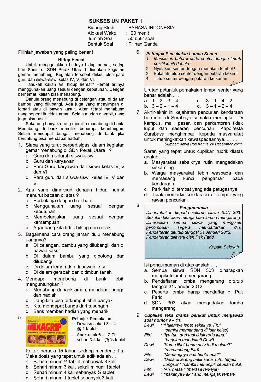 Kunci Jawaban Bahasa Sunda Kelas 5 Kaulinan Barudak