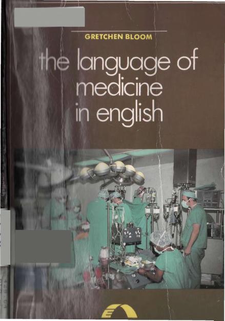The Language Of Medicine In English PDF Book