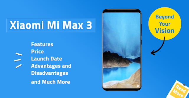 Harga dan Spesifikasi Xiaomi Mi Max 3