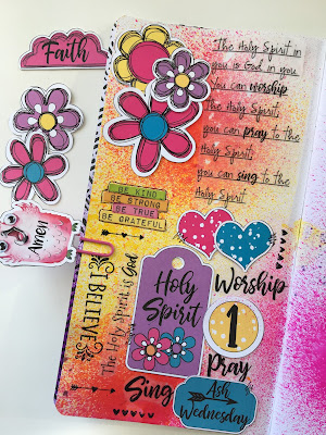 Lent 2018 Day 1 with Lynn at Lot95Designs