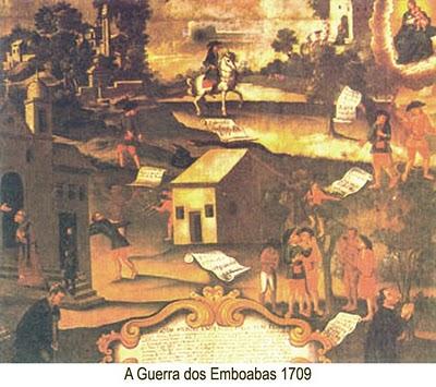 Guerra dos Emboabas em Minas Gerais