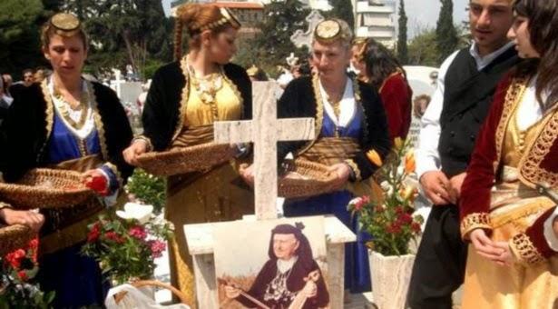 """""""Ταφικό έθιμο του Πόντου από τους Κρωμναίους την Κυριακή του Θωμά"""""""