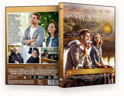 CAPA DVD – O Que De Verdade Importa DVD-R