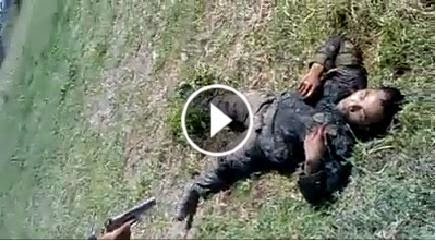WARNING: GRAPHIC - Actual video of brutal execution of incapacitated