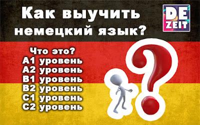 Как выучить немецкий язык? Уровни языка.