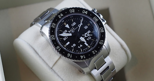 (FOR SALE) BALL ENGINEER HYDROCARBON AERO GMT AUTOMATIC DATE DIVERS CERAMIC