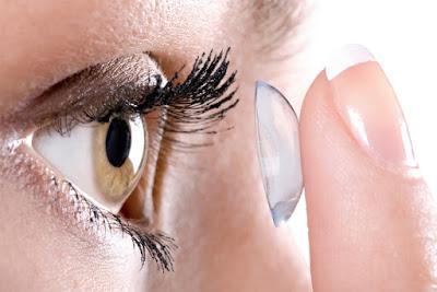 Cara Penggunaan Lensa Kontak