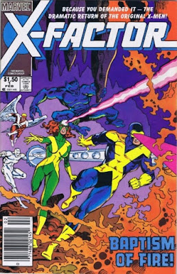 cover of X-Factor #1 (1986). Property of Marvel Comics.