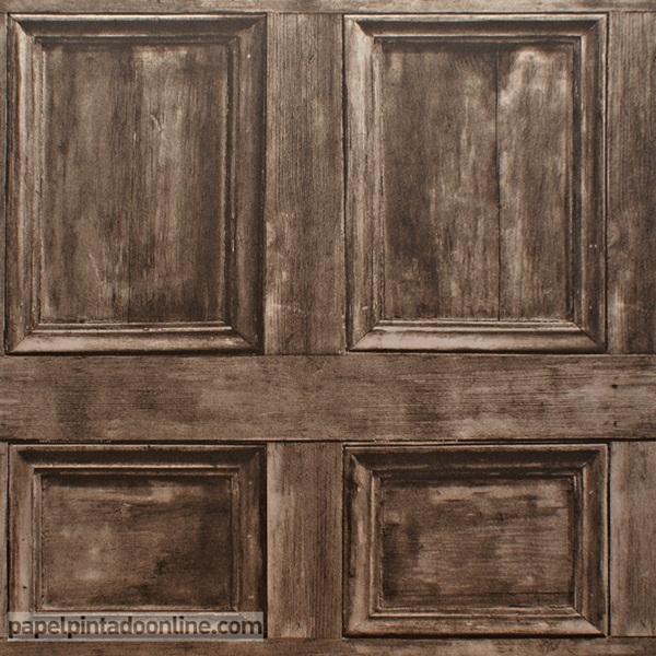 Papel pintado - Papel pintado madera ...