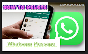 {*Solution*} How to Delete Whatsapp Messages