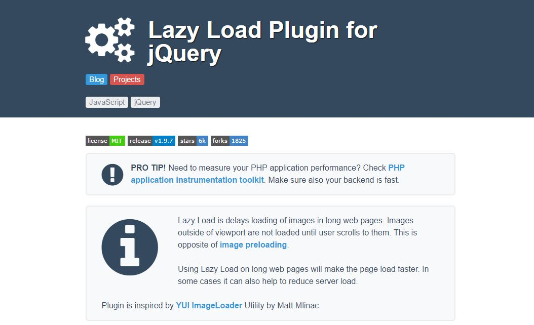 Best free lazy load plugin