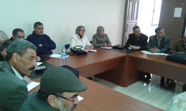 لقاء تواصلي تنسيقي بين مديرية سيدي بنور ومديرات ومديري مؤسسات التعليم الثانوي