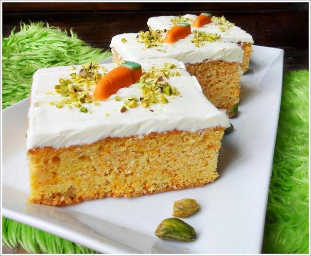 Carrot Cake Mit Frischkase Topping Gf Low Carb