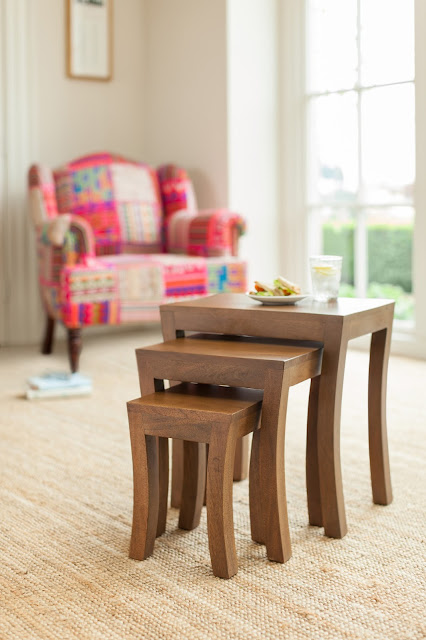 Sundaya mango wood furniture - Nest of Tables