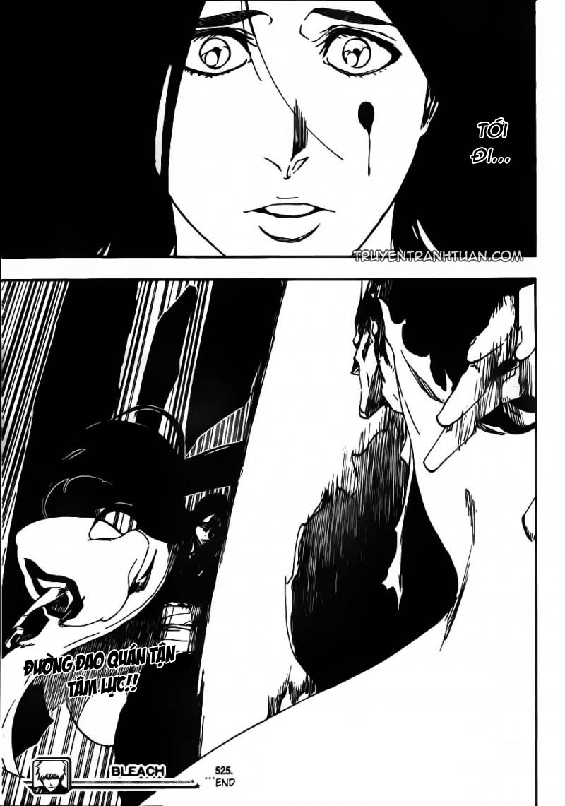 Bleach chapter 525 trang 20