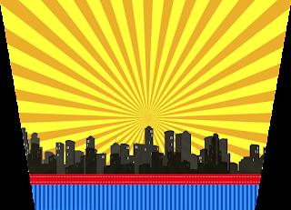 Etiquetas de Super Héroes para imprimir gratis.