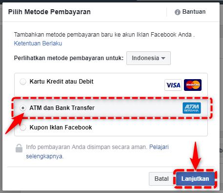 Tambahkan Metode Pembayaran Facebook Ads