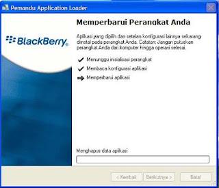 cara menginstall ulang os blackberry