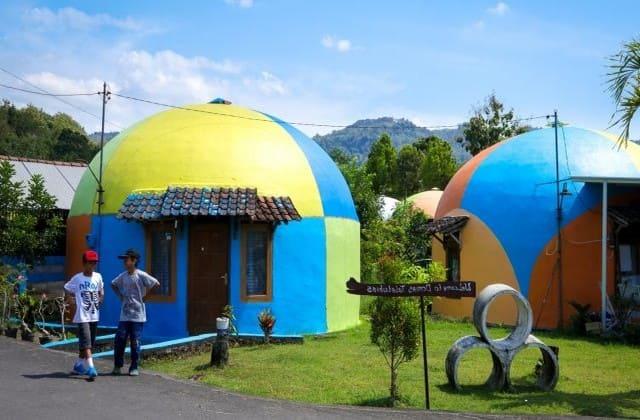 Lokasi desa wisata rumah domes