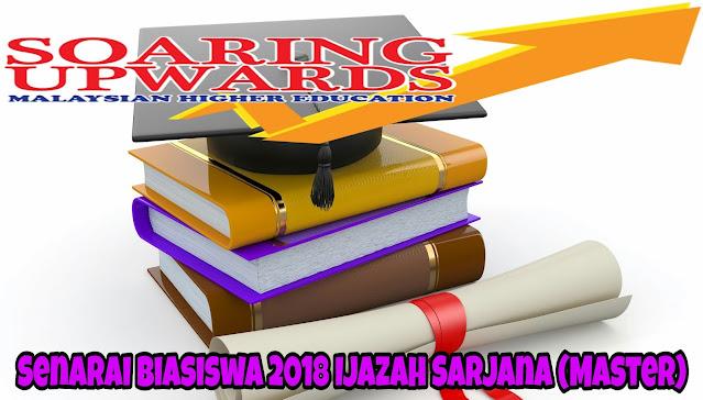 Senarai Biasiswa 2021 Ijazah Sarjana (Master)