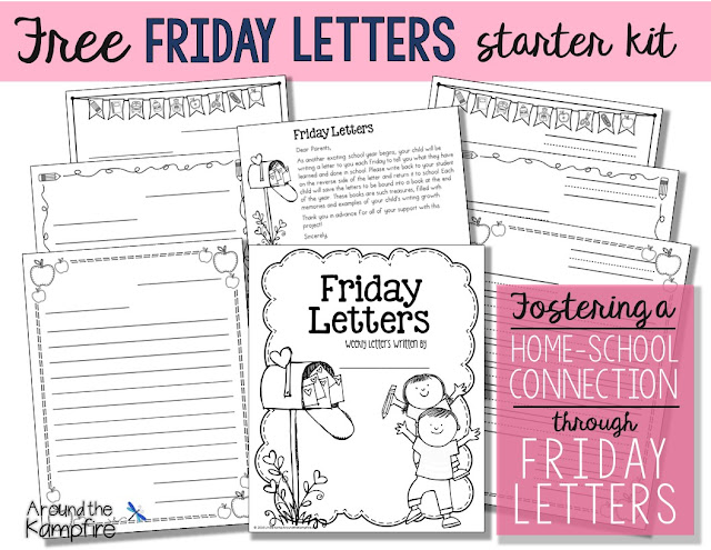 fostering the home school connection through friday letters around