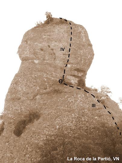 La Roca de la Partió, VN