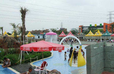 Harga Ticket Masuk kolam Renang Columbus Waterpark Mutiara gading Bekasi