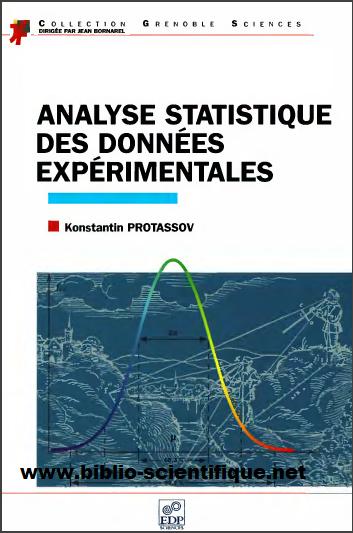 Livre : Analyse statistique des données expérimentales - Konstantin Protassov