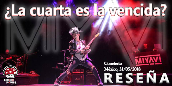 Miyavi concert review Mexico Day 2 world tour pictures