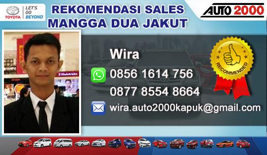 Rekomendasi Sales Toyota Mangga Dua, Jakarta Utara