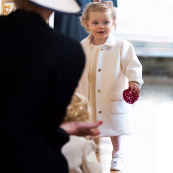 Princess Charlene, Beatrice Borromeo, Princess Charlene, Princess Gabriella and Prince Jacques Armani Junior dress