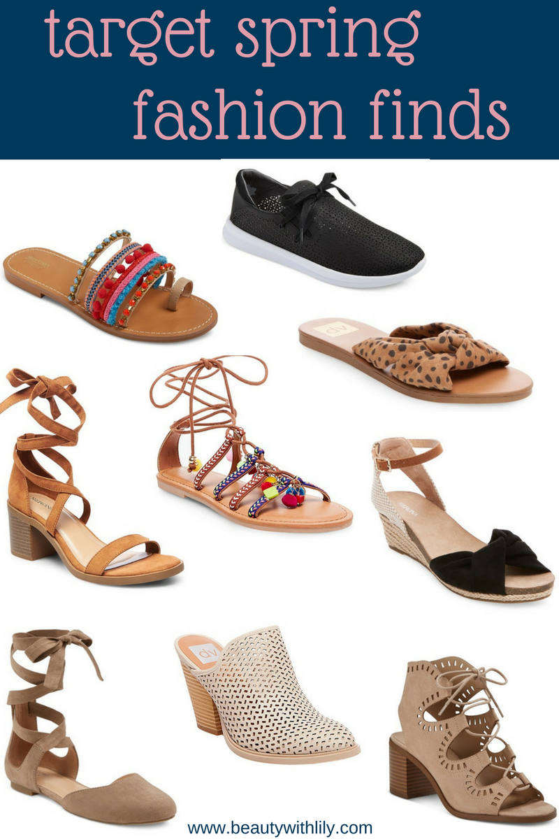 Spring Fashion // Target Fashion Finds // Affordable Spring Fashion // Affordable Shoes   beautywithlily.com