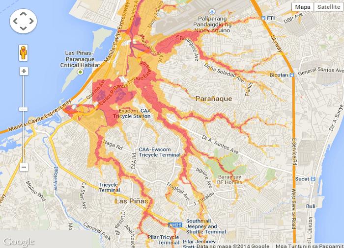Flooded Areas in Metro Manila 4