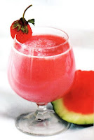 Jus semangka mix stroberi
