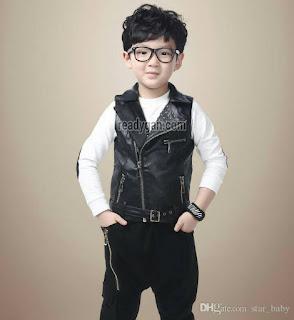 Model Jaket Kulit Anak
