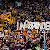 L'estelada a l'escut del Barça