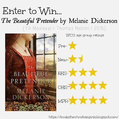 http://booksforchristiangirls.blogspot.com/2016/05/the-beautiful-pretender-by-melanie.html