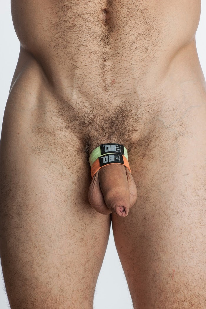 How to wear a rubber band cock ring