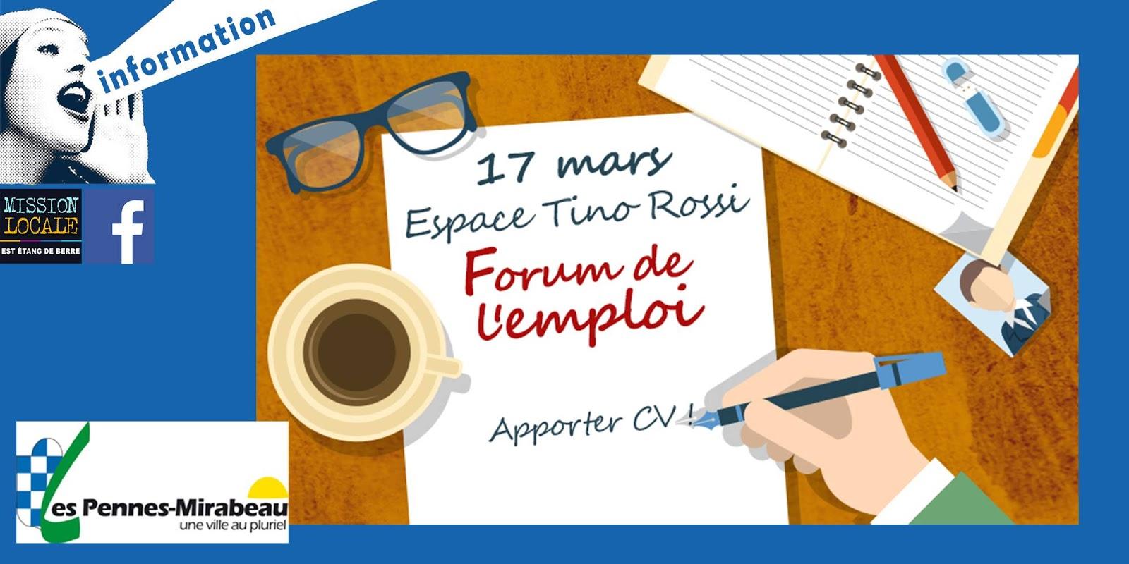 forum emploi 17 mars