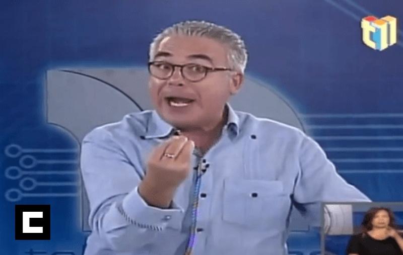 """Video: Roberto Cavada """"se come con yuca"""" a un empleado en vivo"""