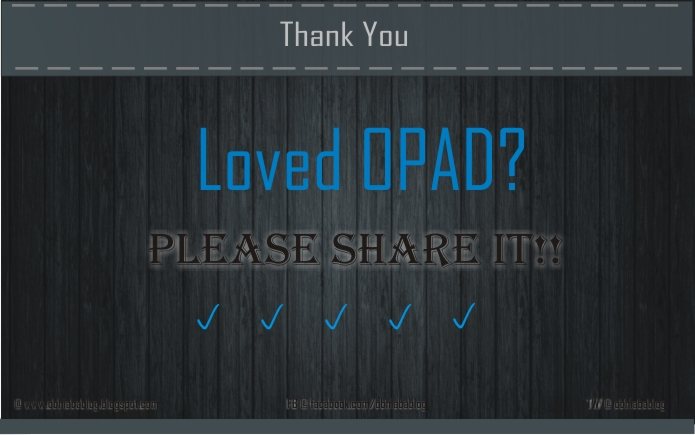 loved Opad template
