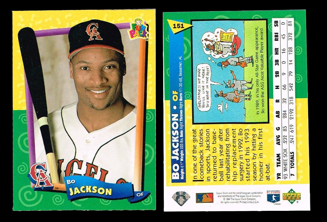 The More You Bo 1994 Upper Deck Fun Packs 151