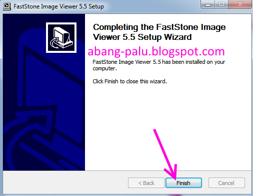 finish install FastStone Image Viewer