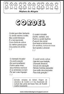 Poesia sobre cordel
