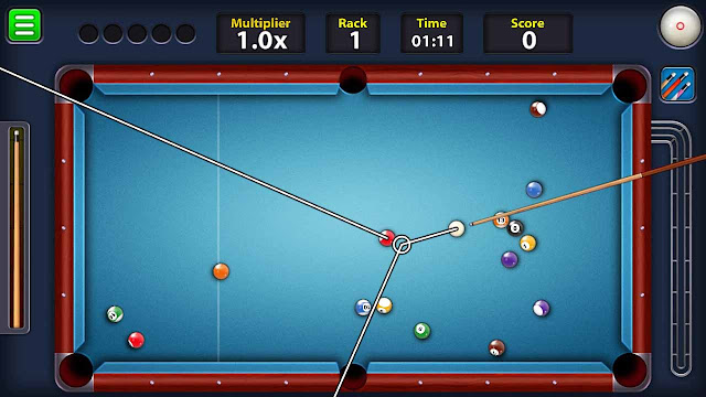 cara cheat 8 pool tanpa root