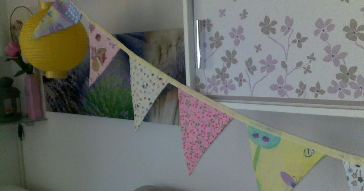 Jen crea creazioni di tutto e un p festone bandierina for Crea cameretta