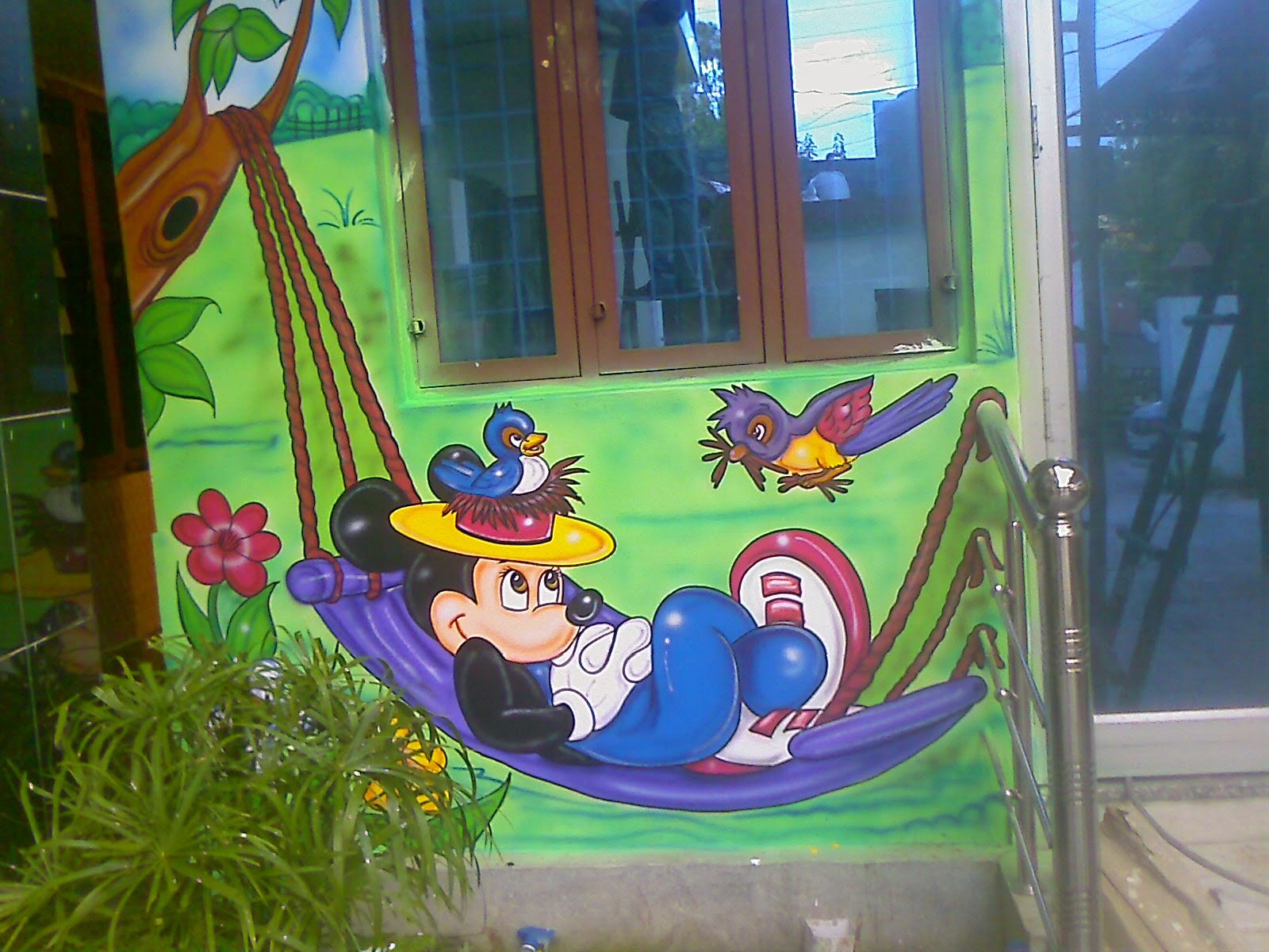 Murals For Outside Walls Play School Wall Painting 3d Cartoon Painting School