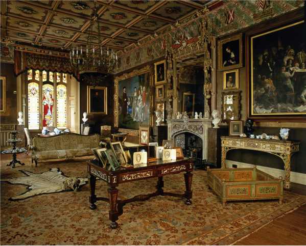 english home interiors period pieces and portraiture knebworth house 11577