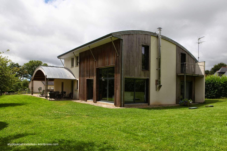 Casa bioclimática en Pluvigner